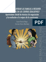 Aportaciones desde las técnicas de negociación y la mediación a la mejora de la convivencia (1)