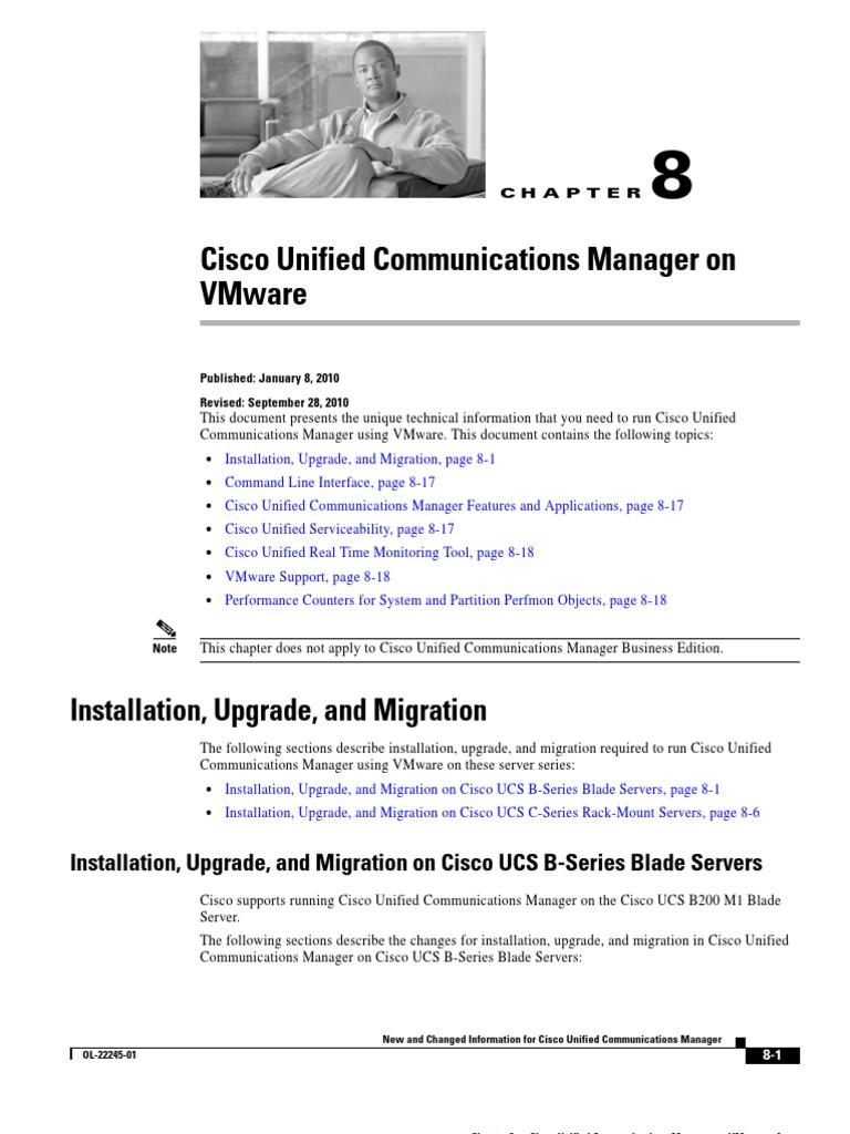 CUCM 8 in Vmware | V Mware | Computer Engineering