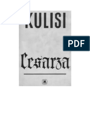 Plivier Theodor Kulisi Cesarza 1960 Zorg