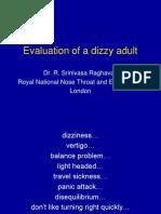 Understanding a Dizzy Adult