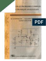 livre_Exercices et problèmes corrigés d_électronique analogique