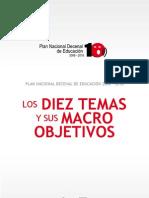 Articles-166057 10 Temas Macro Objetivos Plan Decenal 2006-2015