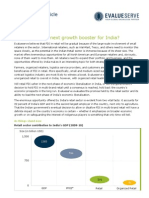 FDI in Retail Evalueserve Article December 2011