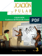 Educacion Popular - 3ra Edicion