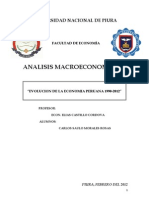 Economia Peru 1990-2012