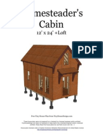 12x24 Homesteader's Cabin v1