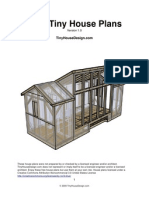 8x20 Tiny Solar House Plans