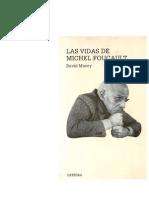 Macey, David - Las Vidas de Michel Foucault