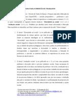 Chamada PRORROGA+ç+âO para submissao de Trabalhos