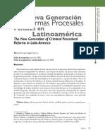 03. Investigaci%c3%b3n. La nueva generaci%c3%b3n de Reformas Procesales... Juan E. Vargas V