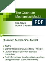 7HC the Quantum Mechanical Model