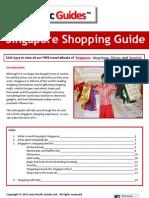 Singapore Shopping Guide