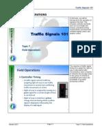 Traffic Signal Field Operations