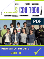Programa Vamos Con Todo Feul 2012