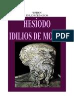 Hesiodo - Idilios de Mosco