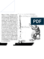 M.I. Finley - Esclavitud Antigua e Idelogia Moderna