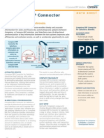 Compiere Sales Force Connector Datasheet