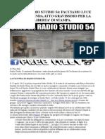 Chiusa Radio Studio 54