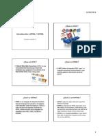 2. Introdución al XHTML