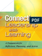 Connecting Leadership With Learning a Framework for Reflection Planning and Action 1 to 60