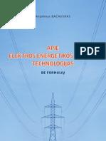 Anzelmas Bacauskas Apie Elektros Energetikos Sistemu Technologijas Be Formuliu