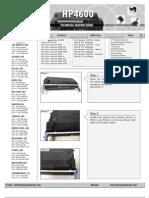HP4600 Toner Dis Assembly