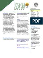 South Kansas Woodturners News - April 2012
