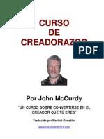 McCurdy, John, Curso de Creadorazgo