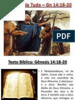 O Dízimo de Tudo (Gênesis 14:18-20)
