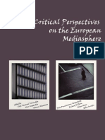 Critical Perspectives on the European Mediasphere