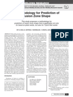 A Methodology for Prediction of Fusion Zone Shape