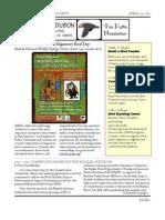 Kodiak Audubon Society 2012 Newslettter