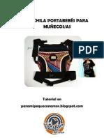 PATRONES MOCHILA PORTABEBES MUÑECOS paramipequeconamor.blogspot.com
