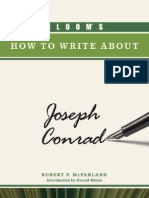 Bloom 039 s How to Write About Joseph Conrad Bloom 039 s How to Write About Literature