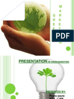 Green Marketing by Me
