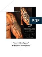 Sons of Liber Typhon by Salvatore Tommy Ganci - SaToGa