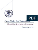 Fraser Valley Real Estate Statistics for  February 2012