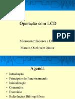 Operação com LCD