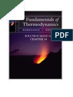 Fundamentals of Thermodynamics 9th edition ch14