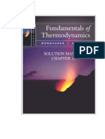Fundamentals of Thermodynamics Solutions ch16
