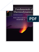 Fundamentals of Thermodynamics solutions ch11