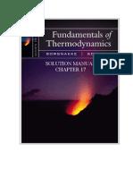 Fundamentals of Thermodynamics solutions ch17