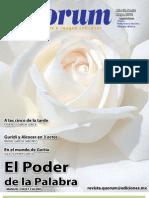 Revista Quórum No. 32 – El poder de la palabra (Manuel Chust Calero)