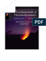 Fundamentals of Thermodynamics solutions ch09
