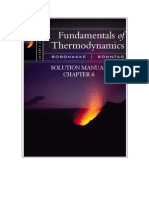 Fundamentals of Thermodynamics solutions ch06