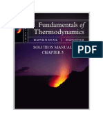Fundamentals of Thermodynamics solutions ch05