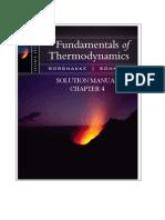 Fundamentals of Thermodynamics solutions ch04