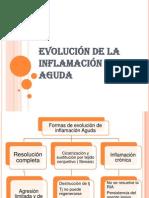 EVOLUCIÓN DE LA INFLAMACIÓN AGUDA