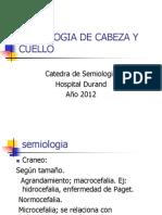 Semiologia de Cabeza y Cuello Durand