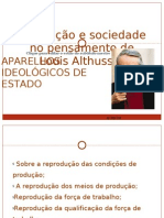Althusser- Aparelhos ideológicos do estado